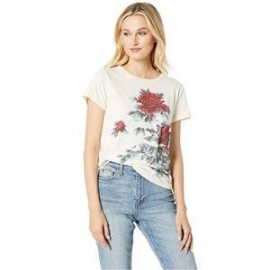 LUCKY BRAND Floral Watercolor-Graphic T-Shirt #UU7